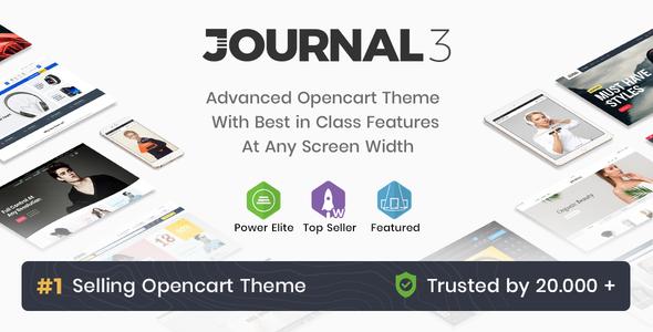 Download Journal - Advanced Opencart Theme