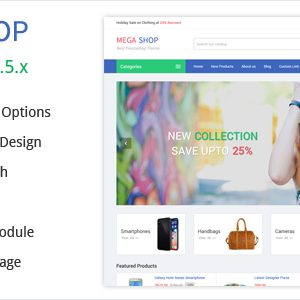 Download MegaShop - Prestashop Theme