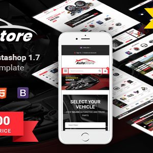 Download AutoStore - Responsive PrestaShop 1.7 Autopart Theme