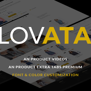 Download Lovata - Multipurpose Responsive PrestaShop Theme