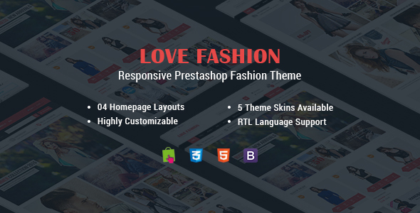 Download Love Fashion - Multipurpose Responsive PrestaShop Theme
