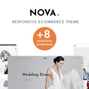Download Nova Prestashop 1.7.5.x Theme for Fashion | Clothing| Bags | Shoes | Accessories