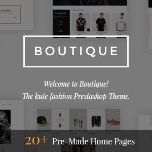Download Boutique - Kute Responsive Prestashop 1.6 & 1.7 Theme