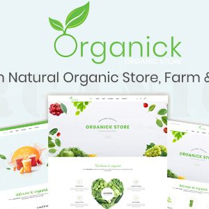 Download Organick - A Fresh Natural Organic Store