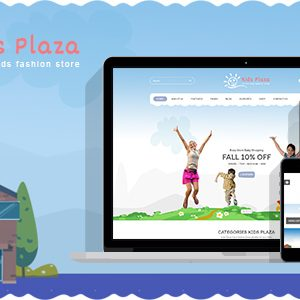 Download Kids Plaza - Kids Fashion Shop PrestaShop 1.7 Theme