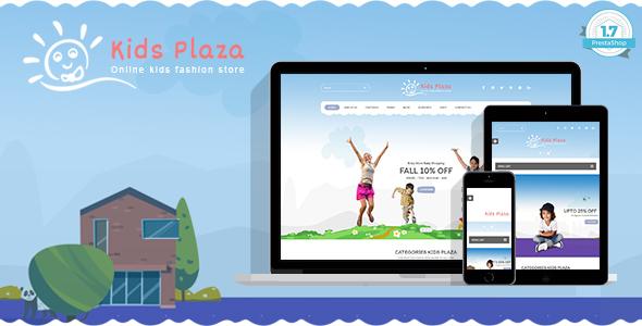 Download Kids Plaza - Kids Fashion Shop PrestaShop 1.7 Theme