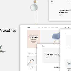 Download Zalio - Handmade Furniture PrestaShop 1.7 Theme