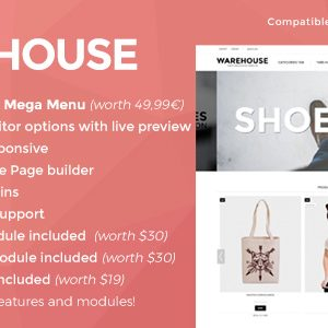 Download Warehouse - Responsive Prestashop 1.6 & 1.7 theme