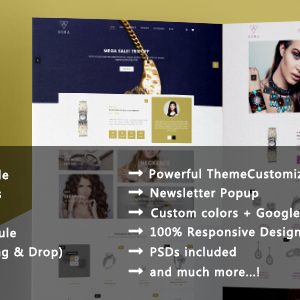Download Kora - Jewelry and Diamond Handcrafted PrestaShop 1.7 & 1.6 Theme