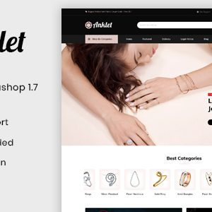 Download Anklet - Responsive Prestashop 1.7 Theme