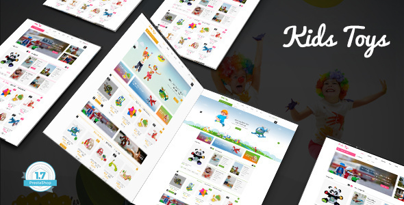 Download Kids Toys - Kids & Babies Toys Shop PrestaShop 1.7 Theme