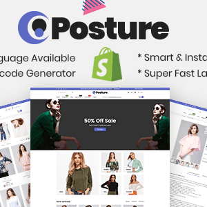 Download Posture - Multipurpose Responsive Shopify Theme