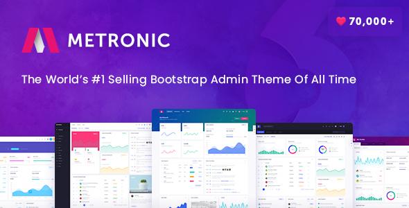 Download Metronic - Responsive Admin Dashboard Template