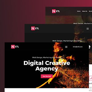 Download Ntel - Digital Agency  HTML Template