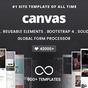 Download Canvas | The Multi-Purpose HTML5 Template