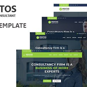 Download Mentos - Consulting agency HTML template