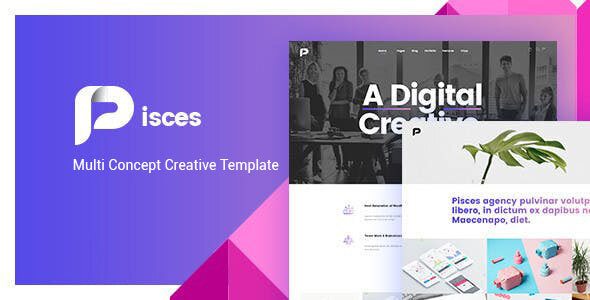 Download Pisces - Multipurpose HTML Template