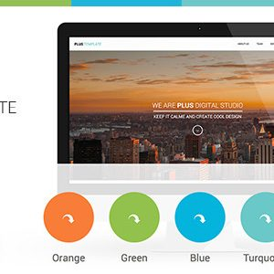 Download Plus Html One-Page Template