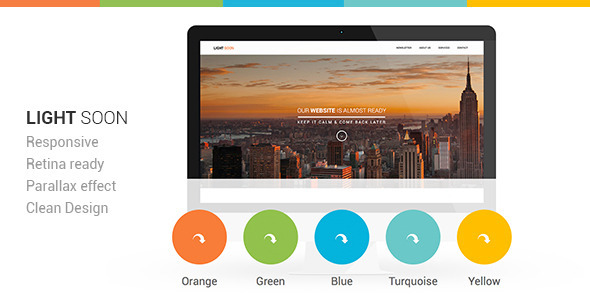 Download Light Soon Html Template