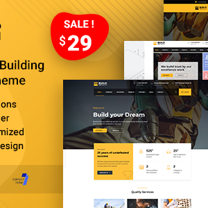 Download Buildbench - Building and Construction WordPress Theme