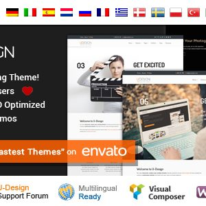 Download uDesign - Responsive WordPress Theme