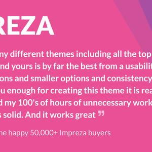 Download Impreza – Multi-Purpose WordPress Theme