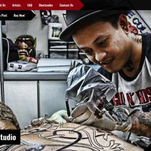 Download Tattoo Studio - Responsive WordPress Theme
