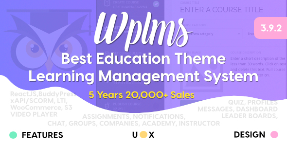 Download WPLMS Learning Management System for WordPress