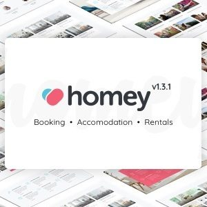 Download Homey - Booking and Rentals WordPress Theme