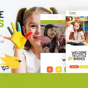 Download Little Birdies | A Multipurpose Children WordPress Theme