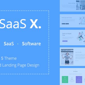 Download TheSaaS X - Responsive SaaS