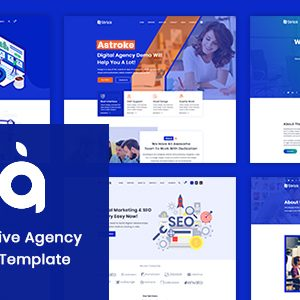 Download Astroke - PSD Template For Creative Agency