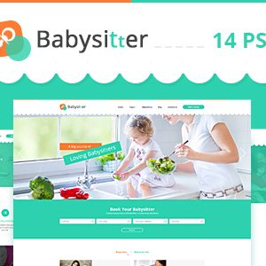 Download Babysitter - Directory Portal PSD Template