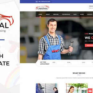 Download Car dinal - Automotive HTML Template