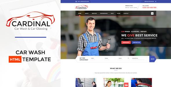 Download Car dinal - Automotive HTML Template