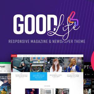 Download GoodLife - Magazine & Newspaper WordPress Theme