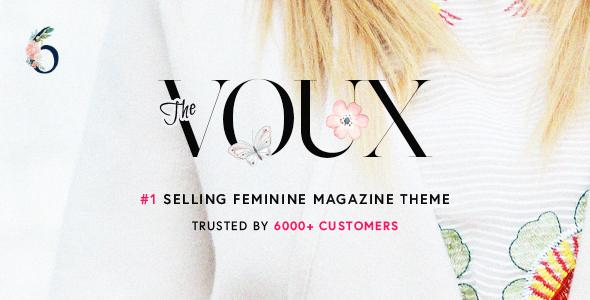 Download The Voux - A Comprehensive Magazine WordPress Theme