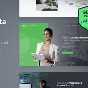 Download Revirta | Virtual Assistant WordPress Theme
