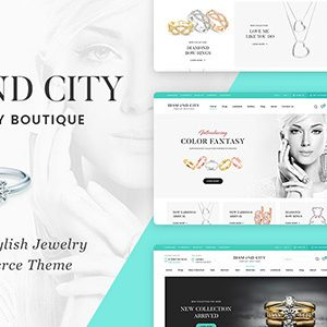 Download DiCi - Jewelry Shop WordPress Theme