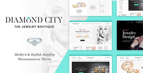 Download DiCi - Jewelry Shop WordPress Theme