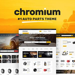 Download Chromium - Auto Parts Shop WordPress WooCommerce Theme