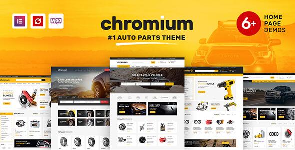 Download Chromium - Auto Parts Shop WordPress WooCommerce Theme