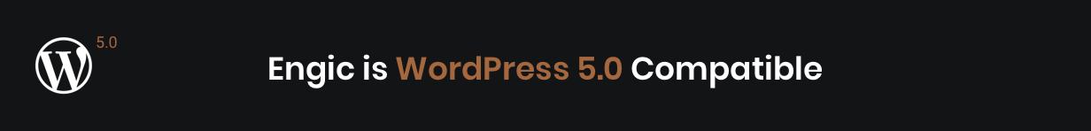 Engic WordPress 5.0