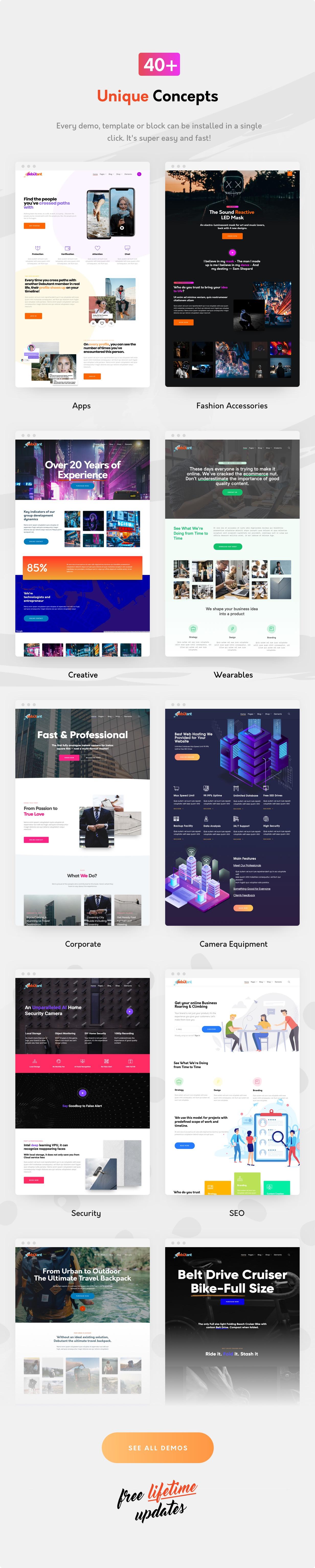 Single Product WordPress Theme