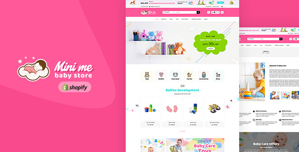 Download MiniMe - Baby Shop Shopify