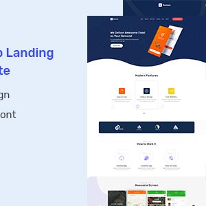 Download Samex - App Landing PSD Template
