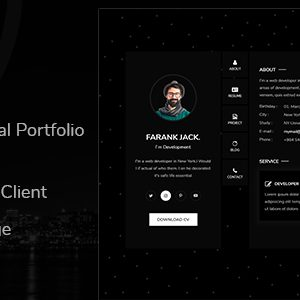 Download Arkol - Personal Portfolio Template