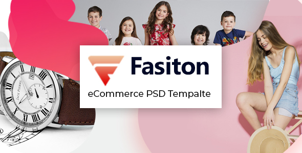 Download Fasiton - eCommerce PSD template