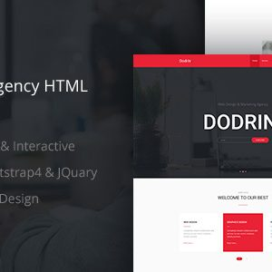 Download Dodrin - Consulting Agency HTML Template