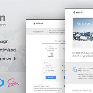 Download Vulcan - Minimalist Business HTML Template